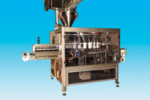 rotary auger filler spee dee packaging machinery