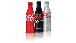 new coke bottles diet zero red