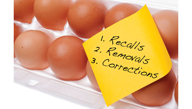 eggs recall removals corrections