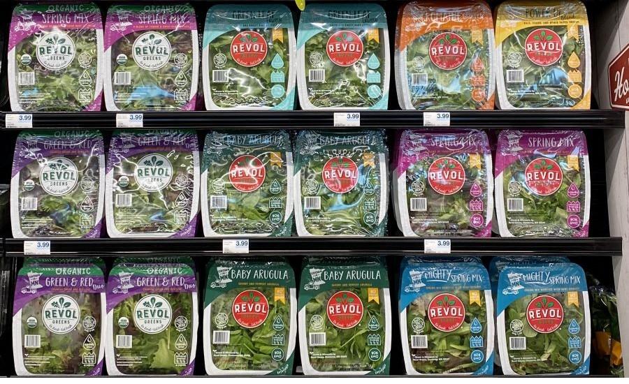 Revol Greens plant-based nutrient for lettuce