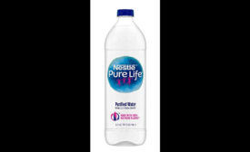 Nestlé Waters Pure Life bottle