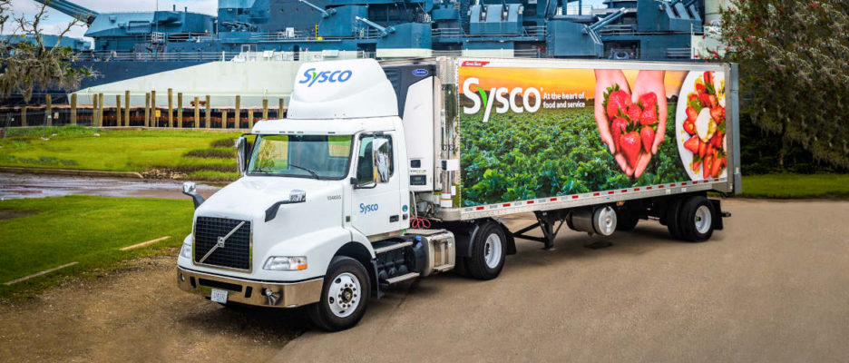 Sysco Truck Navy Ship