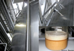 Case history: Yeast foam detected, overflow stopped