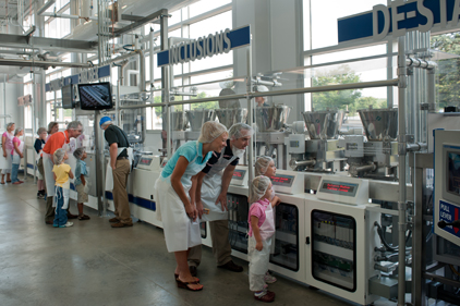Hershey's Chocolate World Production line