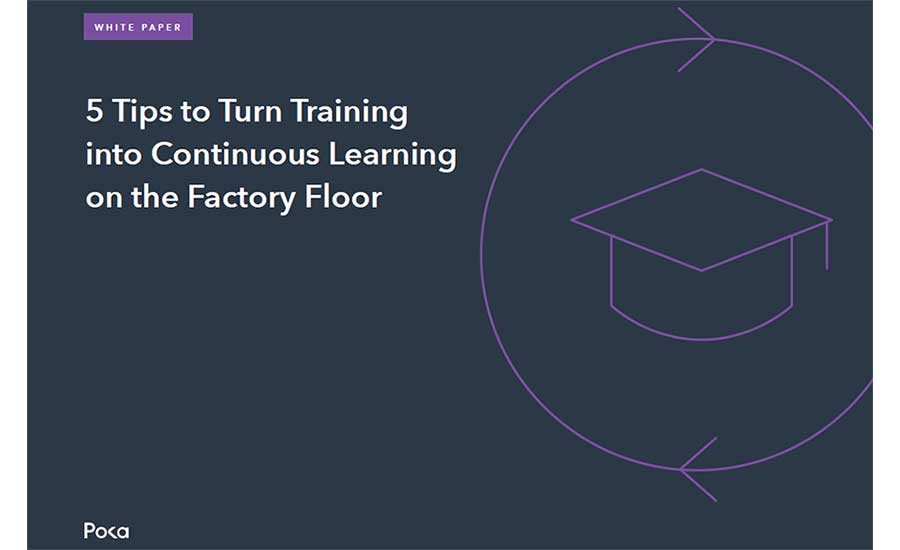 5 Tips to Turn Training into Continuous Learning on the Factory Floor