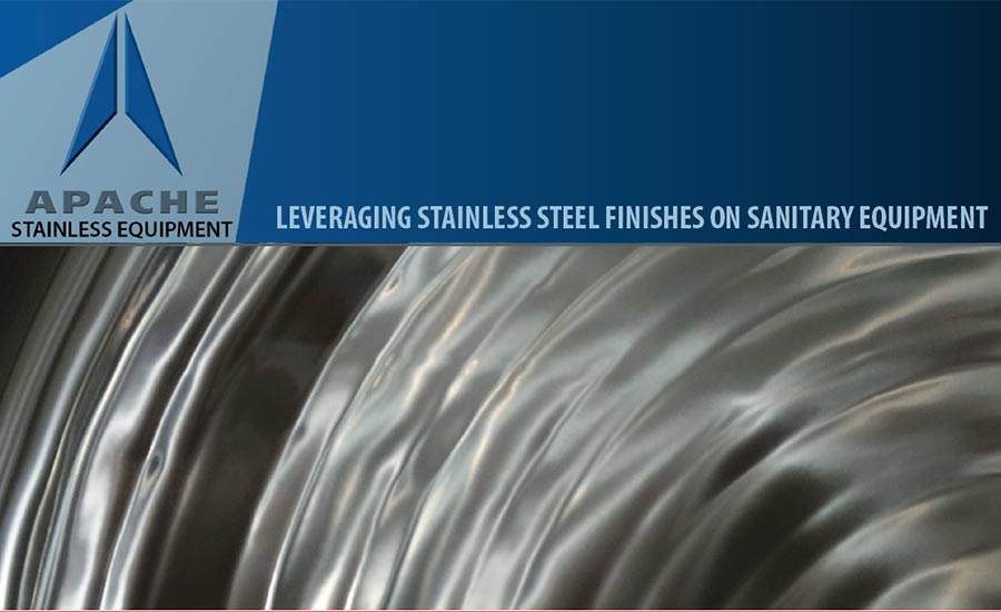 Leveraging Stainless Finishes on Sanitary Equipment