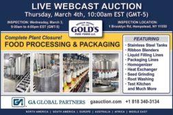 Live Webcast Auction - March 4th