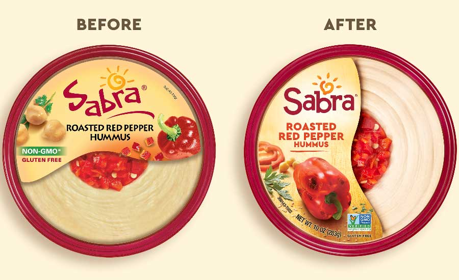 Sabra before and after