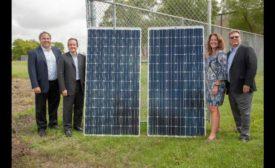 Tetra Pak solar panels