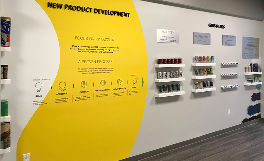 Crown Beverage Packaging North America shows off new