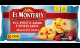 Breakfast wrap recall