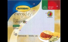 recalled Butterball ground turkey