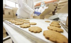 Cookie tray packing