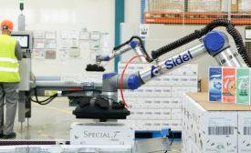 Sidel cobots give Nestlé a hand