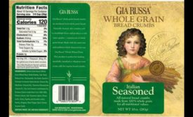 Gia Russa bread crumbs recall