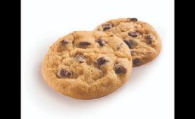 Otis Spunkmeyer chocolate chip cookies from frozen dough