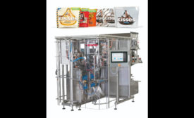 Hershey supplier helps with standup pouches