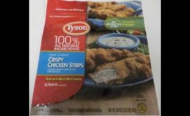Tyson Food recalled chicken strips