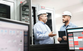 Discussing energy management with an ABB engineer