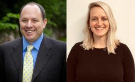 Greg Portell and Katie Thomas