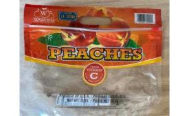 Recalled Aldi peaches