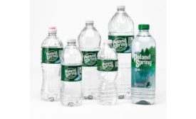 Poland Spring bottled water