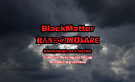 BlackMatter is a new ransomware that is sold to would-be hackers to infect critical systems