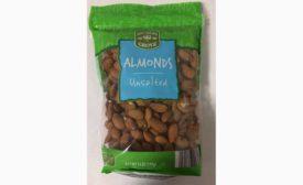 Almonds recall