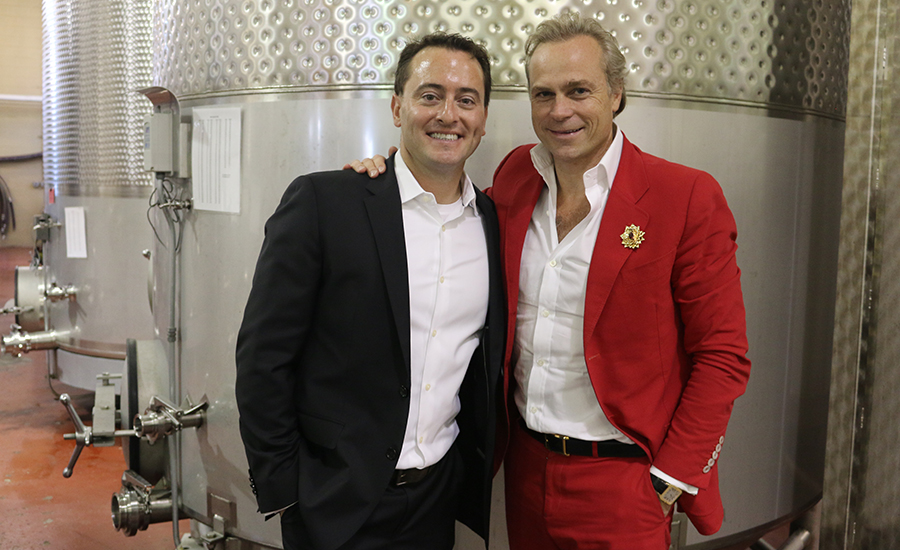 Tim McEnery and Jean-Charles Boisset