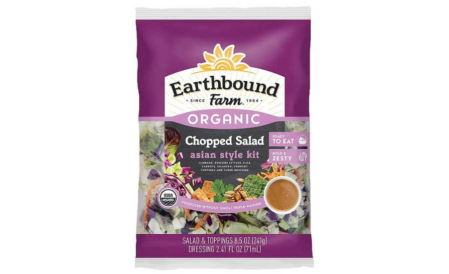 October 21, 2017 – Earthbound Farm LLC Issues Allergy Alert on Undeclared Milk and Egg in One Batch of Earthbound Farm Organic Chopped Asian Style Salad Kit.