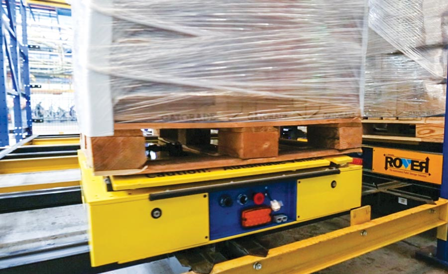 Flexibility is key for automated pallet movement in cold storage