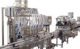 Efficiency is key when designing a packaging line for liquids.