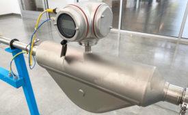 Flow meter main