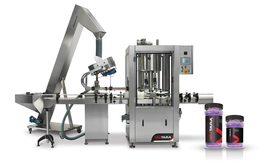 ValTara Triple-Chuck Capping Machine