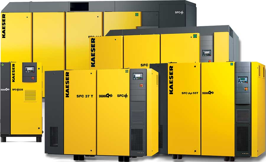 SFC Series: 10 to 700 hp Variable Speed Drive Compressors
