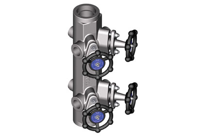 Piston manifolds