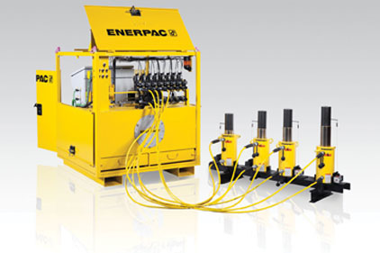 Synchronous lifting system
